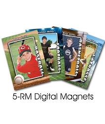 4 Personalized Digital Magnets